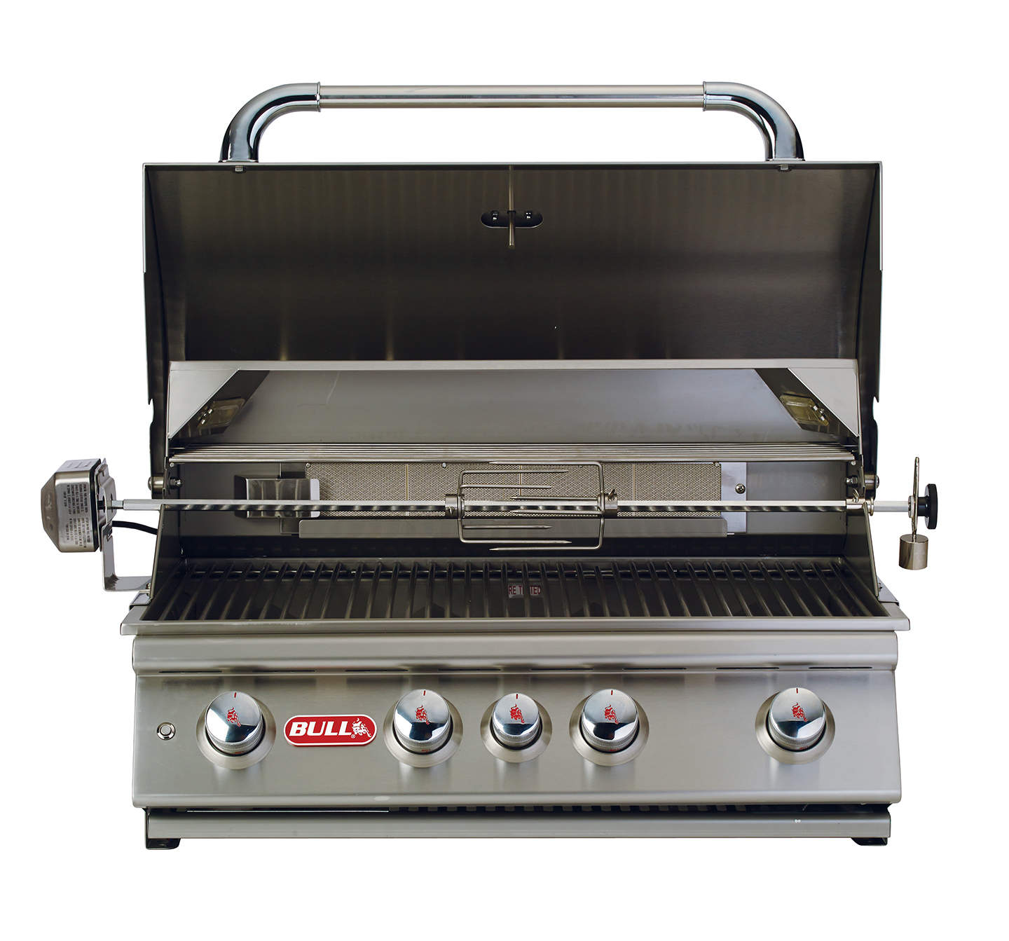 bull angus 30 inch 4 burner built in gas bbq grill with. Black Bedroom Furniture Sets. Home Design Ideas