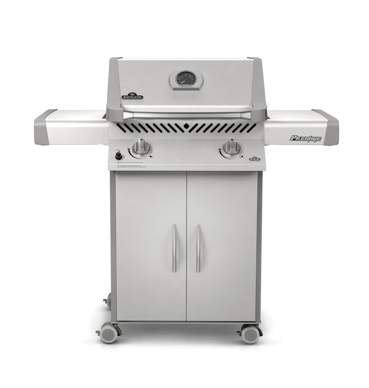 napoleon prestige 308 gas bbq grill on cart p308pss 7 lp p308nss 7 ng new england grill. Black Bedroom Furniture Sets. Home Design Ideas