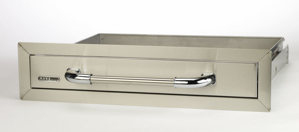 Bull 26 Inch Stainless Steel Single Access Drawer 09970