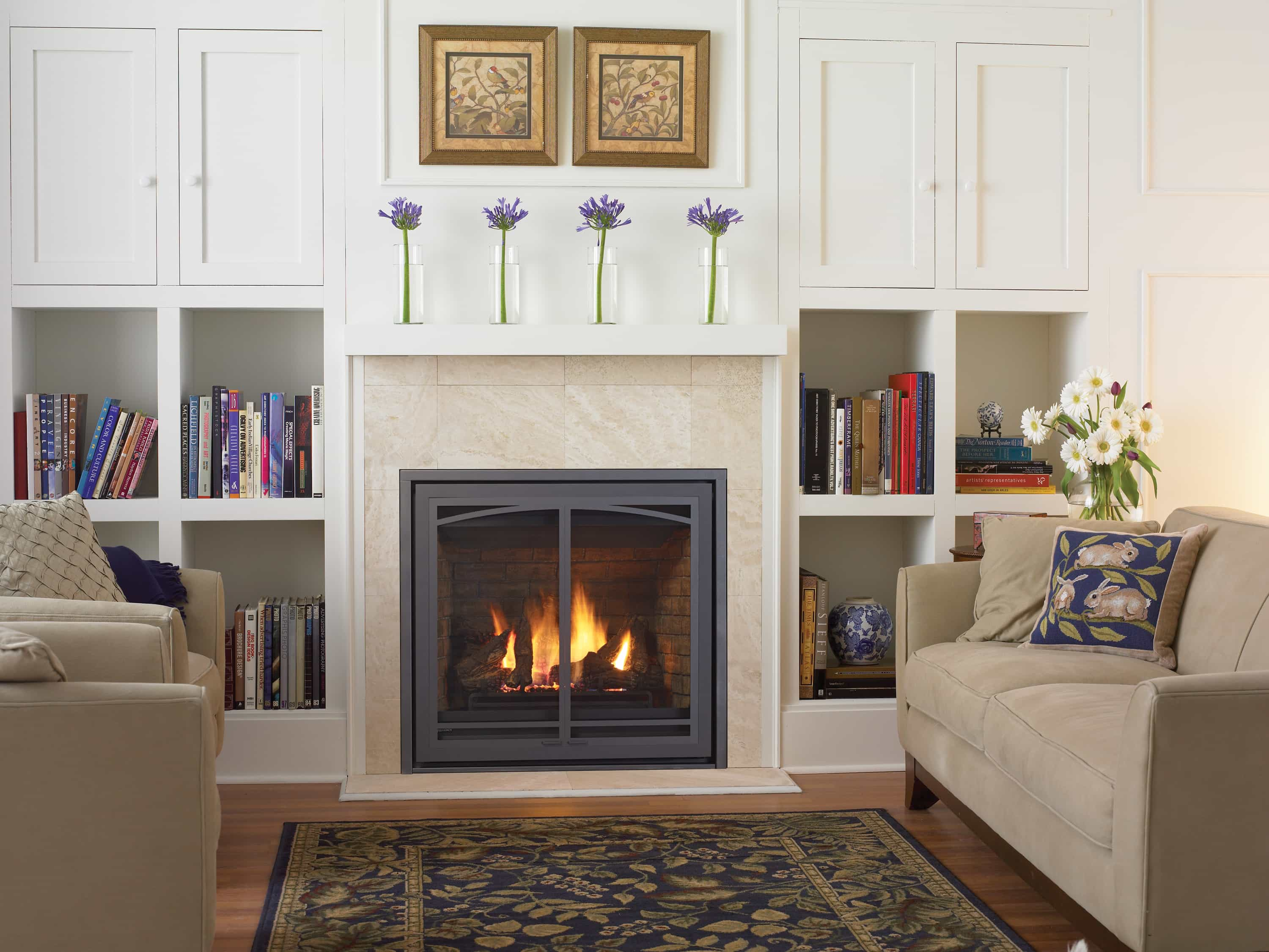 Regency B36xte Direct Vent Gas Fireplace New England